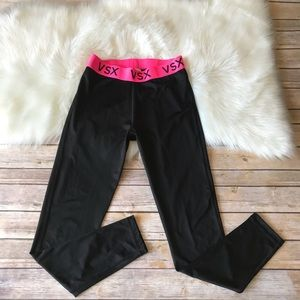 New Victoria Secret VSX Black Tights Skinny Pants